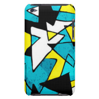 Colorful Triangle Shapes Pattern Print Design iPod Case-Mate Case