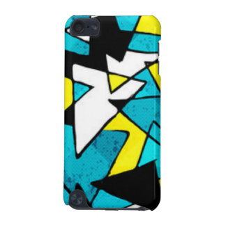 Colorful Triangle Shapes Pattern Print Design iPod Touch 5G Cover