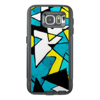 Colorful Triangle Shapes Pattern Print Design OtterBox Samsung Galaxy S6 Case