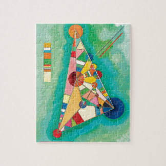 Colorful Triangles by Wassily Kandinsky Jigsaw Puzzle
