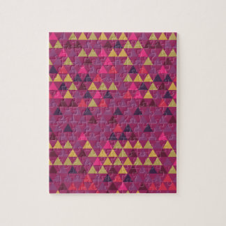 Colorful Triangles Jigsaw Puzzle