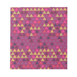 Colorful Triangles Notepad