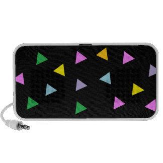 Colorful Triangles Mini Speakers