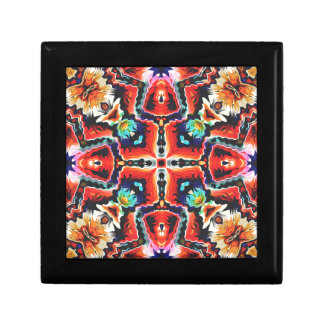 Colorful Tribal Pattern Gift Box