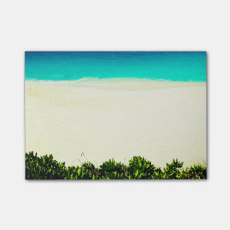 Colorful Tropical Beach Post-it Notes