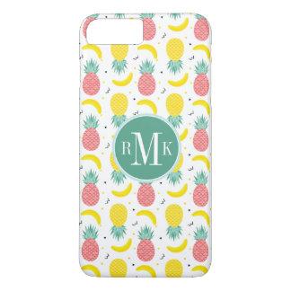 Colorful Tropical Fruit Pattern iPhone 8 Plus/7 Plus Case
