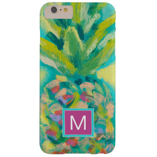 Colorful Tropical Pineapple Barely There iPhone 6 Plus Case