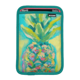Colorful Tropical Pineapple iPad Mini Sleeve