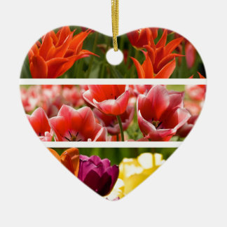 Colorful Tulips Ornament
