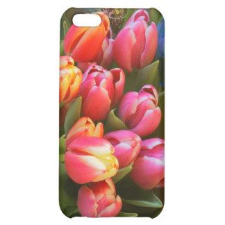 Colorful Tulips iPhone 5C Case