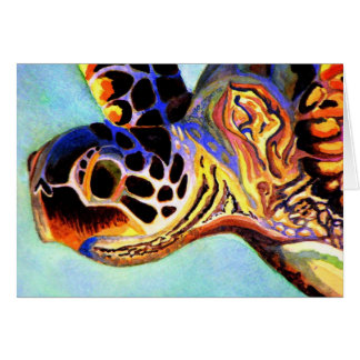 Colorful Turtle Card
