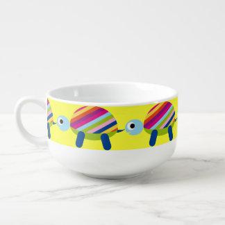 Colorful Turtle Cute Soup Mug