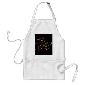 Colorful twist standard apron