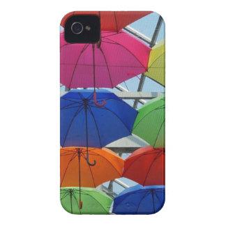 colorful Umbrella iPhone 4 Case-Mate Cases