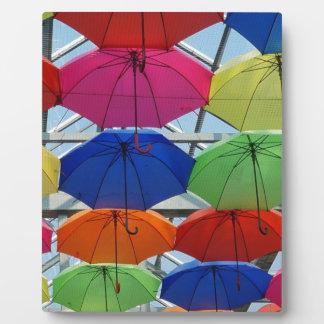 colorful Umbrella Plaque