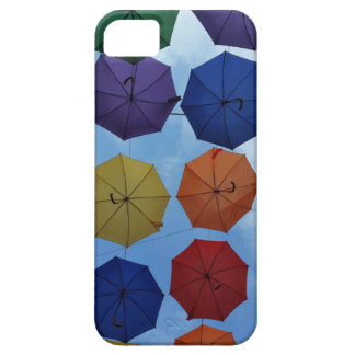 Colorful umbrellas case for the iPhone 5