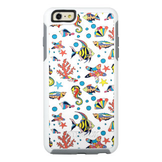 Colorful Underwater Sea Life Pattern OtterBox iPhone 6/6s Plus Case