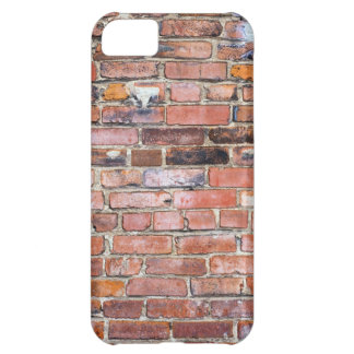 Colorful uneven brick wall iPhone 5C case