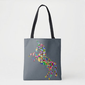 colorful unicorn bag