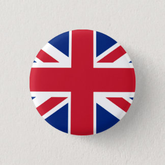 Colorful Union Jack 3 Cm Round Badge