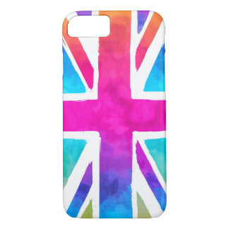 Colorful Union Jack Flag iPhone 8/7 Case
