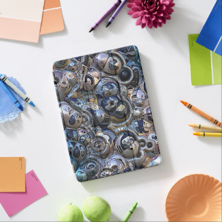 Colorful Urban Abstract iPad Air Cover