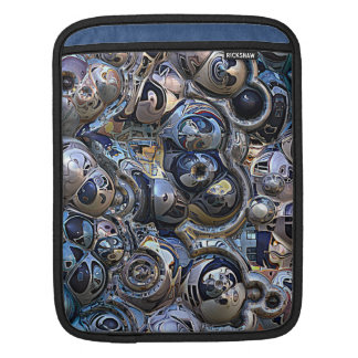 Colorful Urban Abstract iPad Sleeve