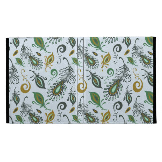 Colorful Various Feathers iPad Folio Cover