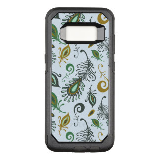 Colorful Various Feathers OtterBox Commuter Samsung Galaxy S8 Case