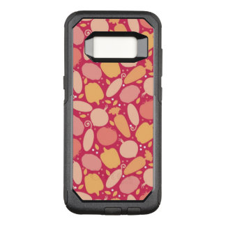 Colorful vegetables pattern OtterBox commuter samsung galaxy s8 case