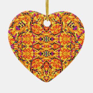 Colorful Vibrant Ornate Ceramic Ornament
