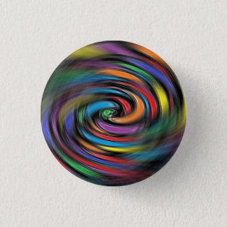 Colorful Vibrations 3 Cm Round Badge