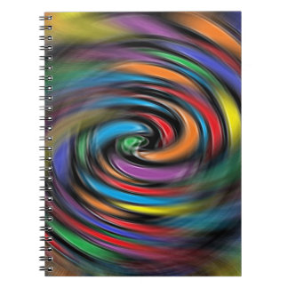 Colorful Vibrations Spiral Notebook