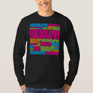 Colorful Videography T Shirt