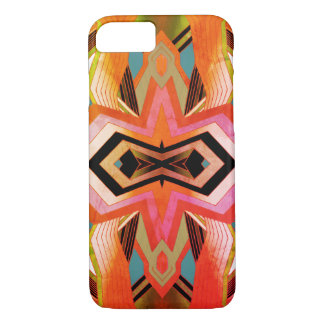 Colorful Vintage Geometric Vibes iPhone 8/7 Case