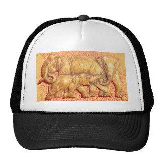 Colorful Vintage Hakuna Matat Elephant Family Gift Cap