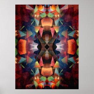 Colorful Vintage Mandala Poster