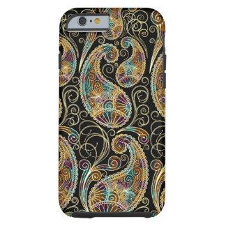 Colorful Vintage Ornate Paisley Design Tough iPhone 6 Case