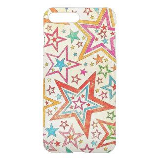 colorful vintage stars vextor art iPhone 7 plus case