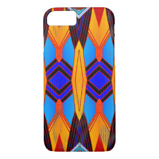 Colorful Vintage Style Geometric Pattern iPhone 8/7 Case