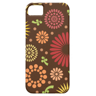 Colorful vintage sunflowers iPhone 5 case