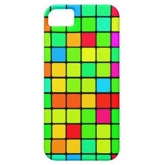 Colorful Vivid Design Retro Squares iPhone 5 Cover