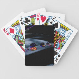 Colorful Water Drops Bicycle Playing Cards