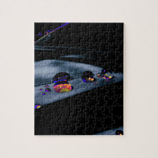 Colorful Water Drops Jigsaw Puzzle
