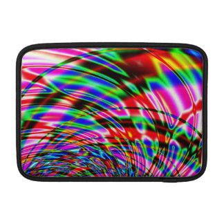 Colorful Water Fractal Sleeve For MacBook Air