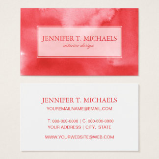 colorful watercolor background for your 3 2 business card