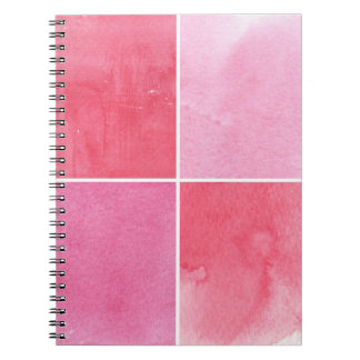 colorful watercolor background for your 3 spiral notebook