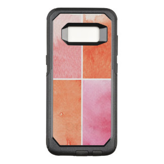 colorful watercolor OtterBox commuter samsung galaxy s8 case