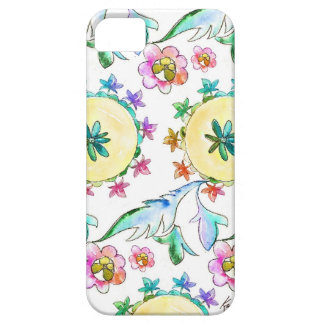 Colorful Watercolor Pattern iPhone Case