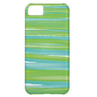 Colorful Watercolor Stripes iPhone Case For iPhone 5C
